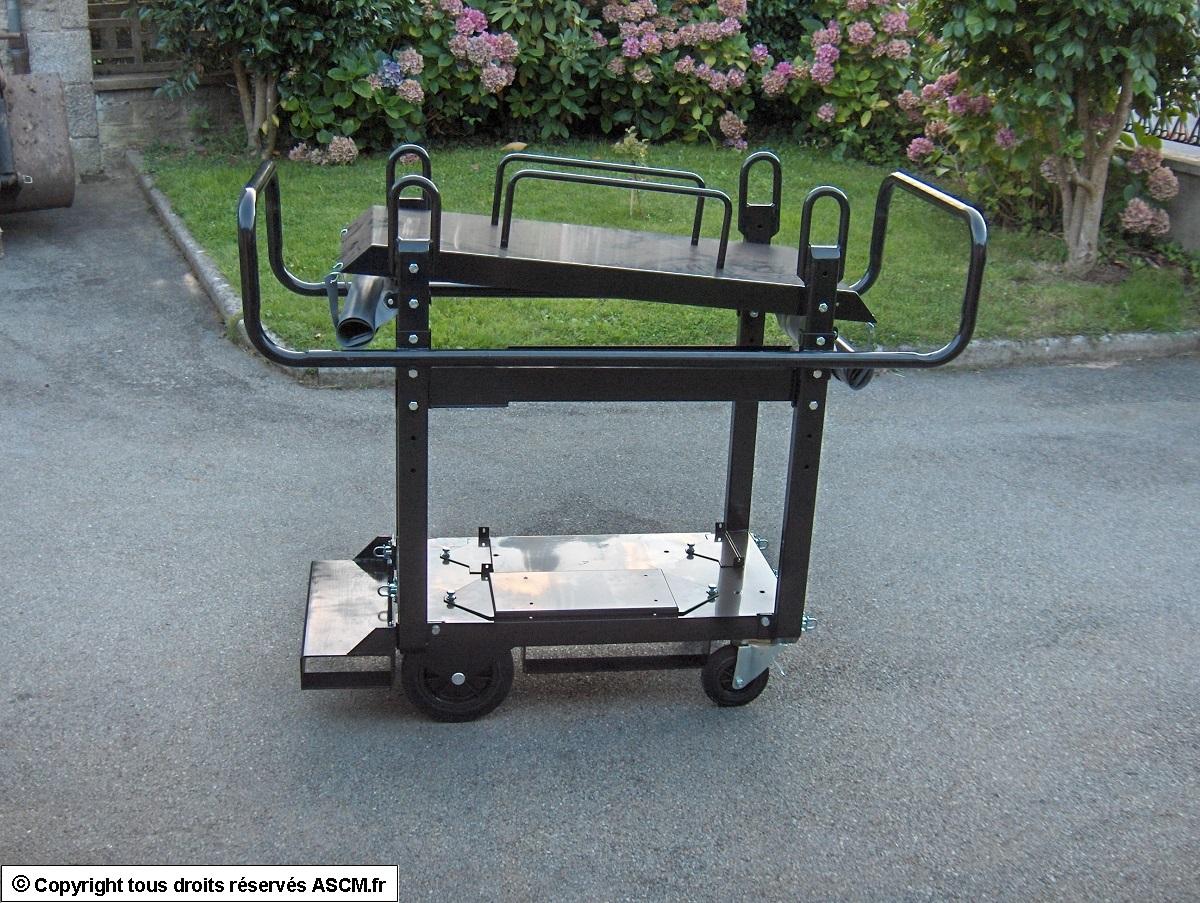 modification de chariots de poste souder kemppi ascm. Black Bedroom Furniture Sets. Home Design Ideas
